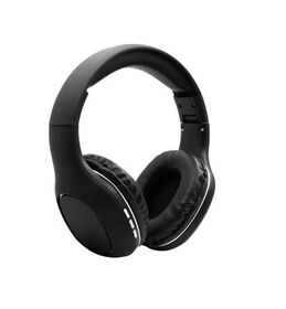 Sharper Image Chic Fabric Bluetooth Headphones - Black