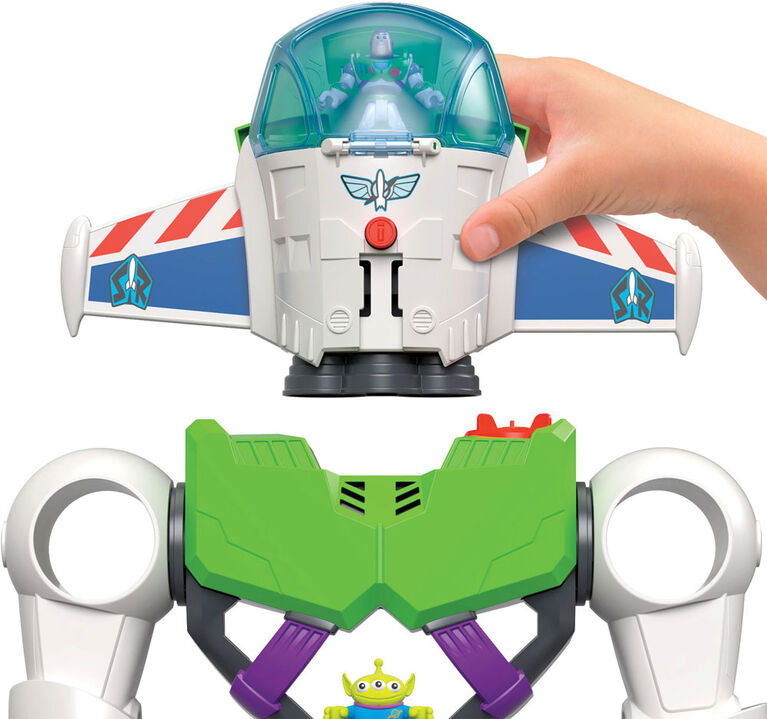 Imaginext Playset Featuring Disney/Pixar Toy Story Buzz Lightyear Robot
