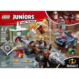 LEGO Juniors Le braquage d'une banque du Démolisseur 10760.