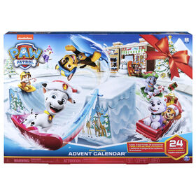 PAW Patrol, 2019 Advent Calendar with 24 Collectible Pieces