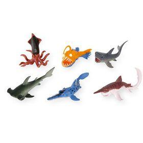 Animal Planet Deep Sea Collectibles Set - 6 Piece