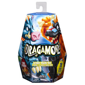 Dragamonz, Coffret de 6 figurines Ultimate Dragon, Jeu de cartes à échanger et de figurines à collectionner