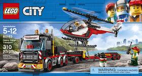 LEGO City Great Vehicles Heavy Cargo Transport 60183