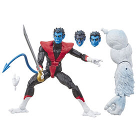Série Marvel Legends, Nightcrawler avec pièce Build-a-Figure de Wendigo