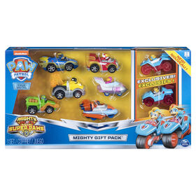 PAW Patrol, True Metal Mighty Gift Pack of 8 Collectible Die-Cast Vehicles, 1:55 Scale