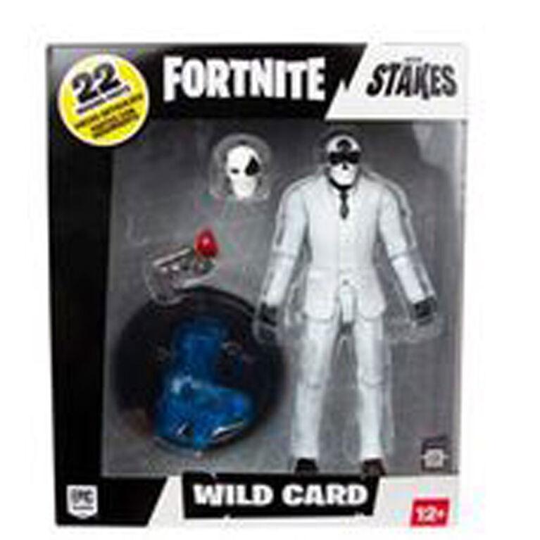 Fortnite Wild Card (Black Suit) 7 inch Action Figure