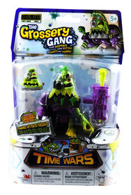 The Grossery Gang Time Wars Wave 1 Action Figure - Cyber -Slop Pizza