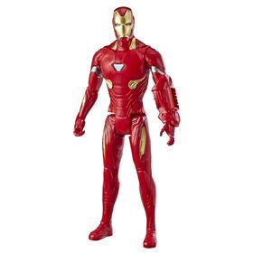 Marvel Avengers: Endgame Titan Hero Series Iron Man Action Figure with Titan Hero Power FX Port