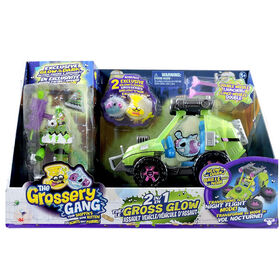 The Grossery Gang Time Wars 2 in 1 Gross Glow Assualt Vehicle - Exclusive - R Exclusive