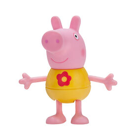 PEPPA PIG - Large Figure - Dress Up Peppa Pig