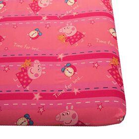 "Peppa Pig ""Bedtime"" Twin Sheet Set"
