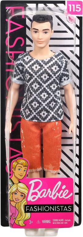 Barbie Ken Fashionistas Doll
