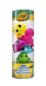 Crayola Bath Squirters - 5 bath squirters