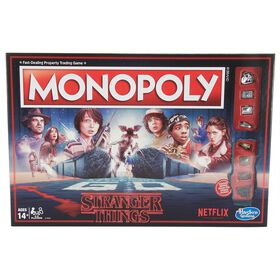 Hasbro Gaming - Jeu Monopoly : Édition Stranger Things.