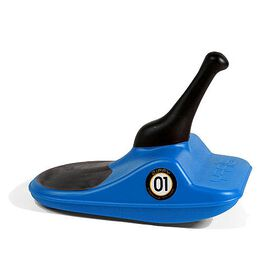 Zipfy - Mini Luge Snow Sled - Blue