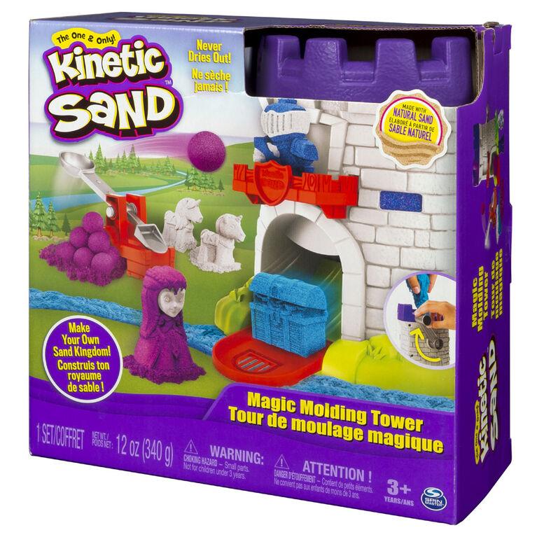 Kinetic Sand – Magic Molding Tower with 12oz of Kinetic Sand