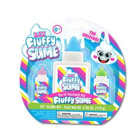 YOYO DIY Fluffy Slime Mini Mama Case 12 Pieces