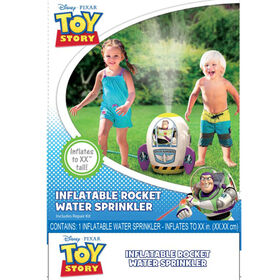 Toy Story Inflatable Sprinkler!