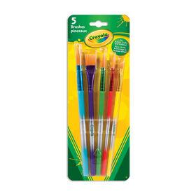 Crayola Variety Brush Set 5 Count