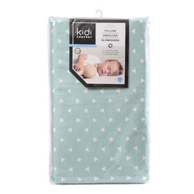 Kidicomfort Memory Foam Toddler Pillow Washable Cover  - Ocean Spray