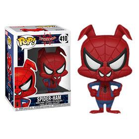 Figurine en vinyle Spider-Ham de Into The Spiderverse par Funko POP!. - Notre Exclusivité
