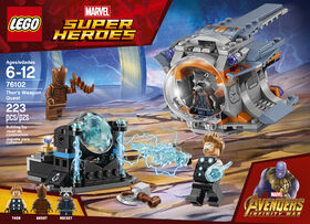 LEGO Super Heroes La quête de l'arme de Thor 76102.