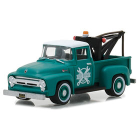 1:64 The Hobby Shop Series 2 - 1956 Ford F-100 with Drop-in Tow Hook