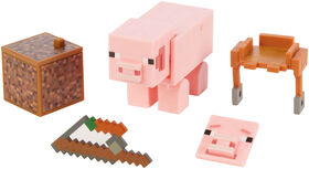 Minecraft Comic Maker Pig Action Figure - English Edition