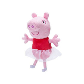 "Peppa Pig 6"" Plush with Sounds - Ballerina Peppa"