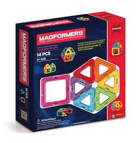Magformers Rainbow 14 Piece Set