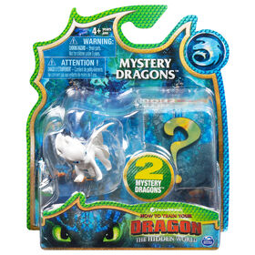 How To Train Your Dragon, Lightfury Mystery Dragons 2-Pack, Collectible Dragon Figures