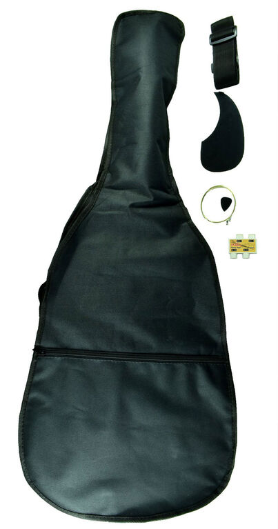 Bridgecraft Huntington Dreadnought Acoustic Guitar - Black