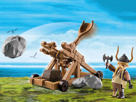 Playmobil - How To Train Your Dragon - Gobber with Catapult