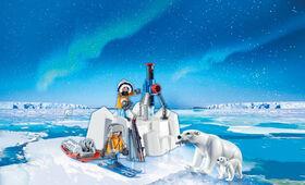 Playmobil - Arctic Explorers with Polar Bears (9056)