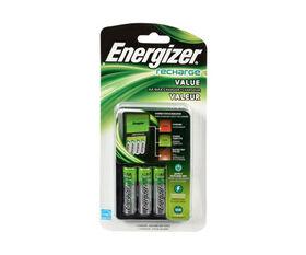 Energizer - Chargeur valeur incluant 4 piles AA