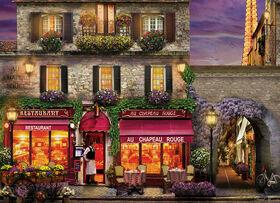Eurographics Red Hat Restaurant Paris 1000 Piece Puzzle