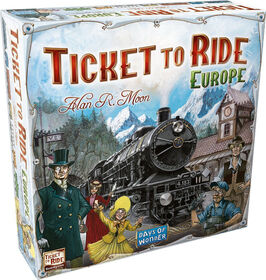 Ticket to Ride Game - Europe