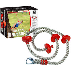 Slackers Ninja 8'' Climbing Rope With Foot Holds