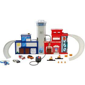 Matchbox - Rescue Police and Fire DepartmentHeadquarters Playset?