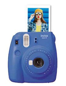 Fujifilm Instax Mini 9 Instant Camera - Colbalt Blue