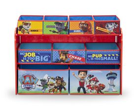 PAW Patrol Deluxe Multi-Bin Toy Organizer