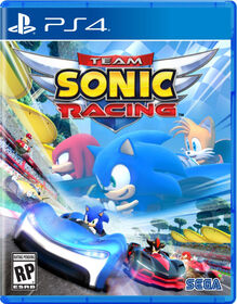 Play Station 4 - Team Sonic Racing