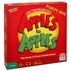 Apples To Apples Game Party Box - English Edition