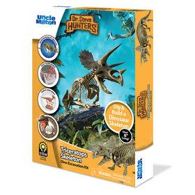 Dr. Steve Hunters - Dino Dig Excavation Kit - Triceratops