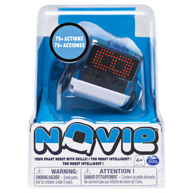 Novie, Interactive Smart Robot with Over 75 Actions and Learns 12 Tricks (Blue)