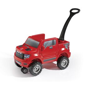 Step2 - 2-in-1 Ford F-150 SVT Raptor Push Buggy Ride-On - Red