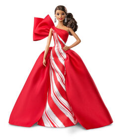 2019 Holiday Barbie Doll - Side Ponytail
