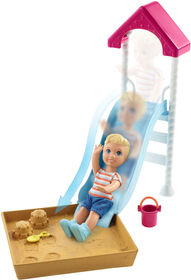 Barbie Skipper Babysitters Inc Doll & Playset, Toddler