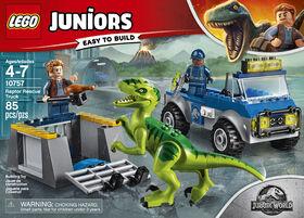 LEGO Juniors Le camion de secours des raptors 10757