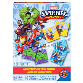 Marvel Super Hero Adventures Memory Match Game